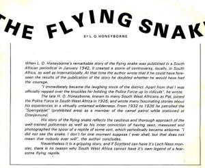 Flying Snake 1