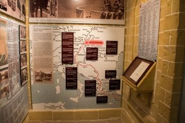 Deel van die uitstalling in Kaapstad se Holocaust museum. Baie mense wil nie graag daaraan herinner word nie.