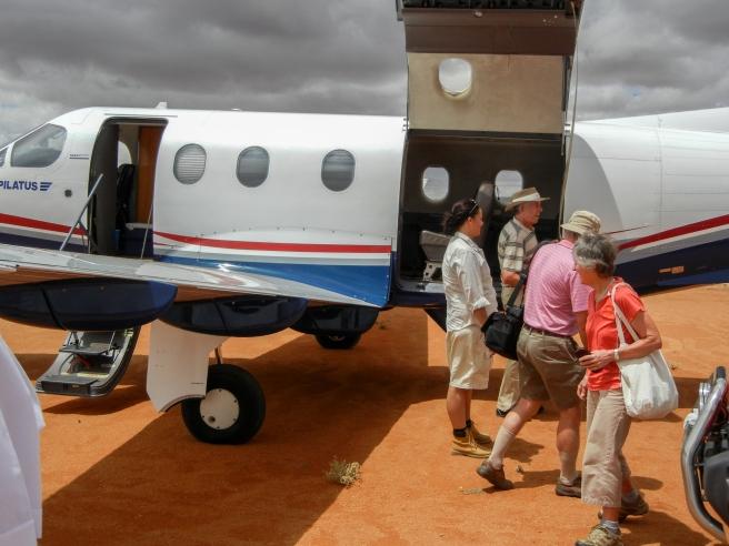 vliegtuigpassasiers