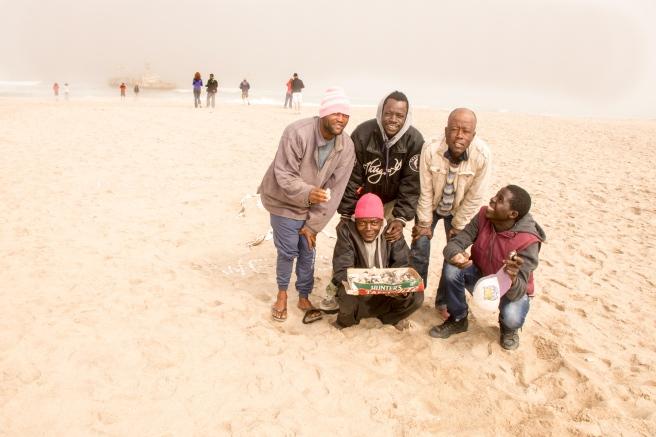 damaras-op-strand